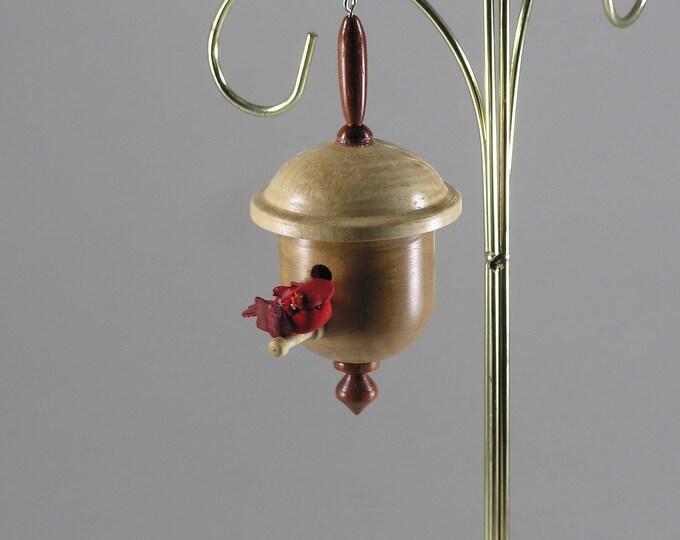 Birdhouse Christmas Ornament #3