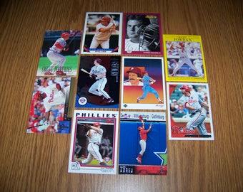 50 Philadelphia Phillies Baseball Cards