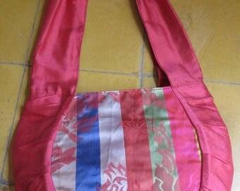 "Bag ""Rasmey"" made of silk from Cambodia and Korea"