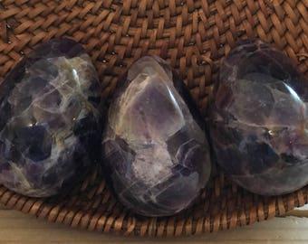Amethyst Gemstone Egg,Healing Stone, Chakra Stone, Spiritual Stone,Healing Crystal