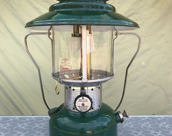 Coleman 228F Double Mantle Lantern Dated 5 of 66