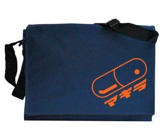ON SALE Akira Pill Japanese Anime Navy Blue Messenger Shoulder Bag