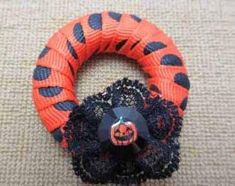 Halloween Wreath - dollhouse miniature 1:12 scale