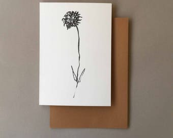 Free UK Delivery | A5 Botanical Greeting Card | Mothers Day Card