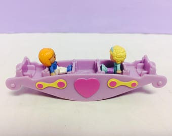 Vintage Polly Pocket, Teeter Totter Pals, Polly Pocket Doll, Polly Playset, 1990s Bluebird, Vintage Toys, See Saw Polly, Cute 90s Girl Toys