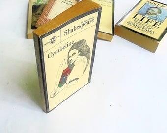 Cymbeline by William Shakespeare (1968, Signet Books) Vintage Literature & Fiction Paperback ~ Milton Glaser Cover Design
