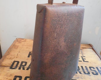 Antique Primitive Large Cowbell