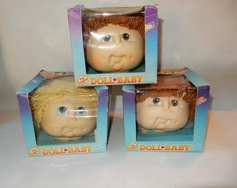 Doll Baby Doll Head by Martha Nelson Thomas, 1984