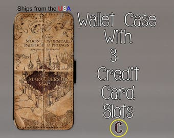 iPhone 7 Plus Case - iPhone 7 Plus Wallet Case - iphone 7 Plus - iPhone 7 Plus Wallet - Harry Potter iphone 7 Plus case C