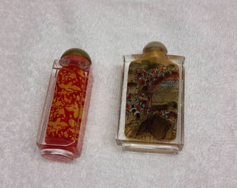 Vintage Japanese Opium Snuff Bottle