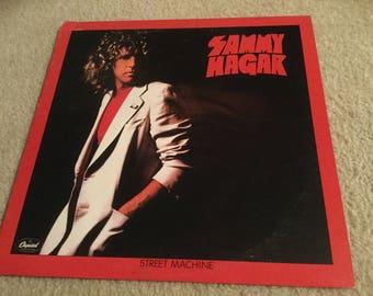 Sammy Hagar Street Machine Vinyl Record LP Album