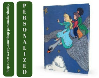 Swan Book The Silver Swan Fairy Tale Custom Name Kid's Animated Illustrated Story Read Personalized Hardcover Children's Fiction Ages 4 to 9