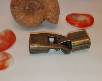 24 * 12mm bronze color toggle clasp set