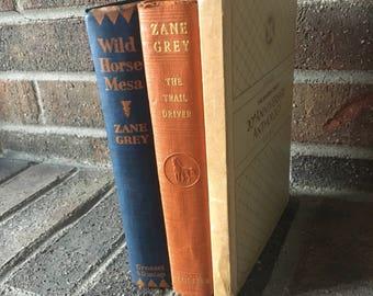 Vintage Book Set // Antique Books // Decorative Books // Vintage book