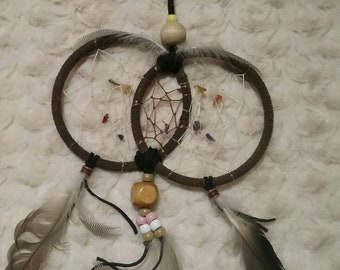 4 inch double ring dreamcatcher