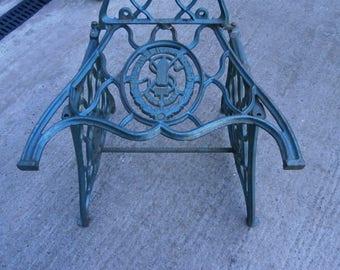 Singer Sewing Machine Garden Chair