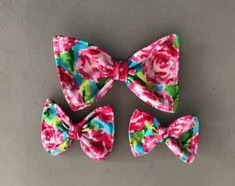 The Lilly Rose Pet Bow