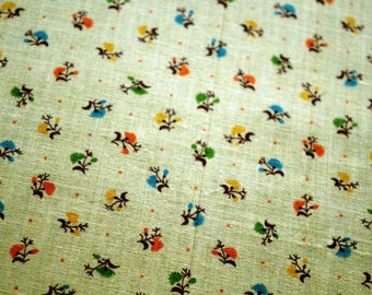 Vintage Cotton Yellow 275 cm x 90 cm