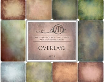 10 High Res Fine Art Digital Overlays / Textures Set 3  BUY 3 Get 1 free Code ATPbuy3get1free