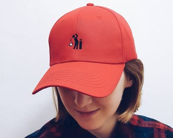 Hole in one/ Embroidered Dad Cap / Dad hat / Baseball Cap / Baseball Hat / Dad cap / Tumblr Hat / Embroider Hat/Cap/ Hat /Golf cap/Golf hat