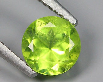 1.40 Ct Natural Pakistan Greenish Yellow PERIDOT