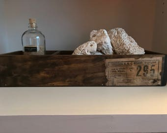 Rustic Wooden Sand Box Display