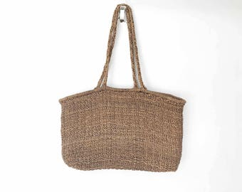 The Positano Picnic Vintage Rattan Beach Bag Oversized Tote Bag Carry All Diaper Bag Basket Purse Boho Accessories Cross Body Bag Picnic Bag