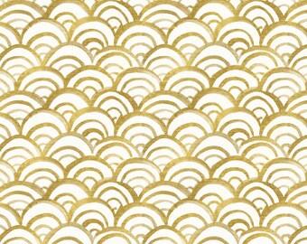 Fitted Crib Sheet Gold Mermaid. Baby Bedding. Crib Bedding. Mermaid Nursery. Cotton Sheet. Minky Crib Sheet. Gold Nursery. Gold Bedding.