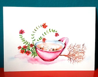 Illustration (1 postcard)