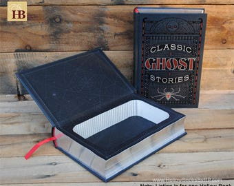 Hollow Book Safe - Classic Ghost Stories - Leather Bound