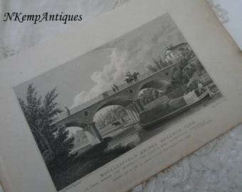 Antique print Regents park