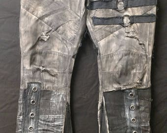 Wasteland Tan mens flared jeans sz. 38