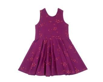Stardust Galaxy Tank Mini Twirl Dress