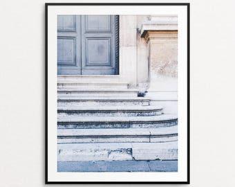 Paris Photograph - Paris Print, Paris Architecture, Paris Decor, Home Decor, Parisian Door, Paris Wall Art, Paris Bedroom Decor