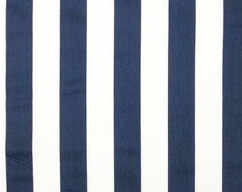 Blue Stripe fabric by the BOLT navy on White Canopy Premier Prints home decor wedding curtains pillows drapes table runners 30 yards!