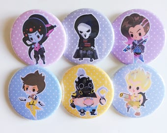 Sharodactyl Overwatch Buttons 2