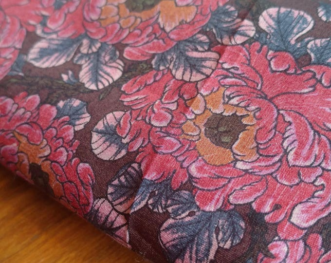Liberty of London Tana Lawn - Poppy Print BY THE 1/2 YARD