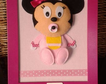 TO order: Painting Original customizable child - BB Mouse