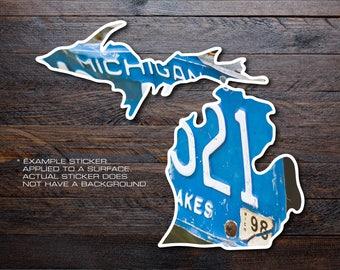 Michigan Mitten Vinyl Decal Sticker A10