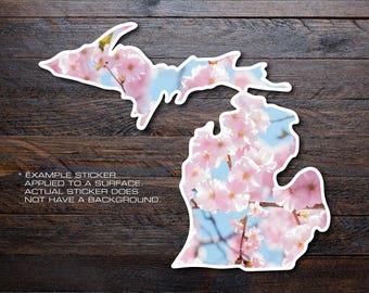 Michigan Mitten Vinyl Decal Sticker A32