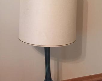 Mid Century Blue Green Drip Lamp
