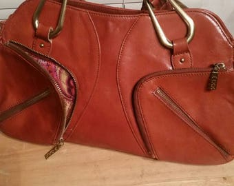 Vintage gorgeous leather Maxx shoulder bag, purse, handbag.