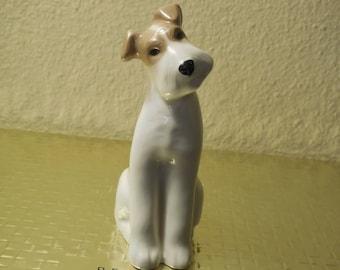Terrier Dog PORCELAIN TERRIER DOG