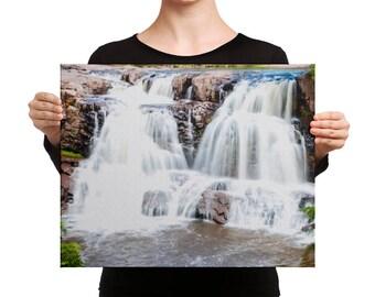 Canvas - Red Silo Original Art - Twin Falls