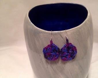Miniature Doily Earrings