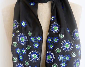 Dot work scarf No. 06