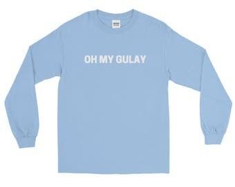 Oh My Gulay Long Sleeve T-Shirt // Filipino Philippines Funy Pinoy