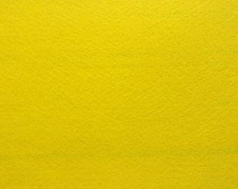 Felt 1. 5 mm yellow A4 size sheet
