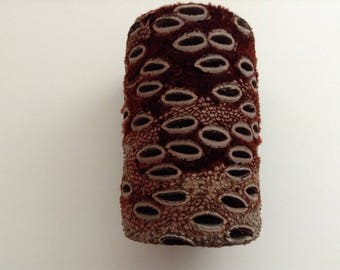 Fabulous.....Birthday Gift..... Hand Turned Australian Banksia Nut Vase.........