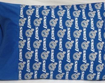NFL Detroit Lions Standard Pillowcase